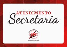 Horário de Atendimento - Secretaria