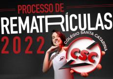 Processo de Rematrículas 2022
